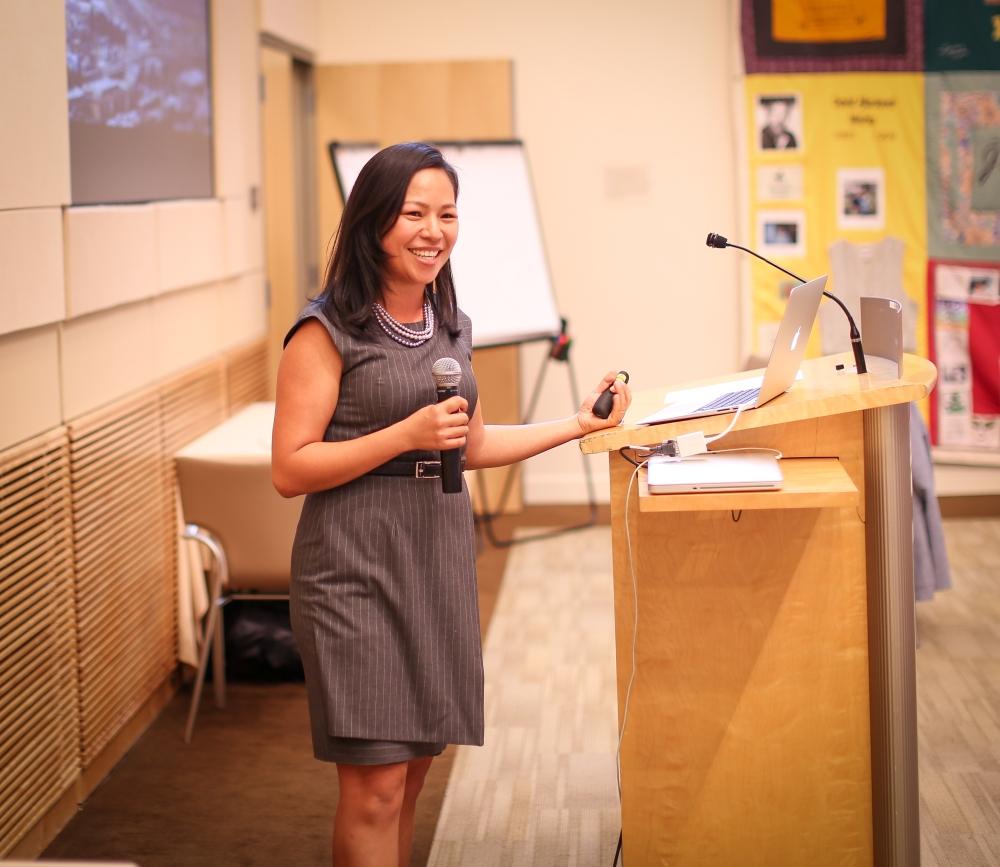 Keynote speaker Vien Truong